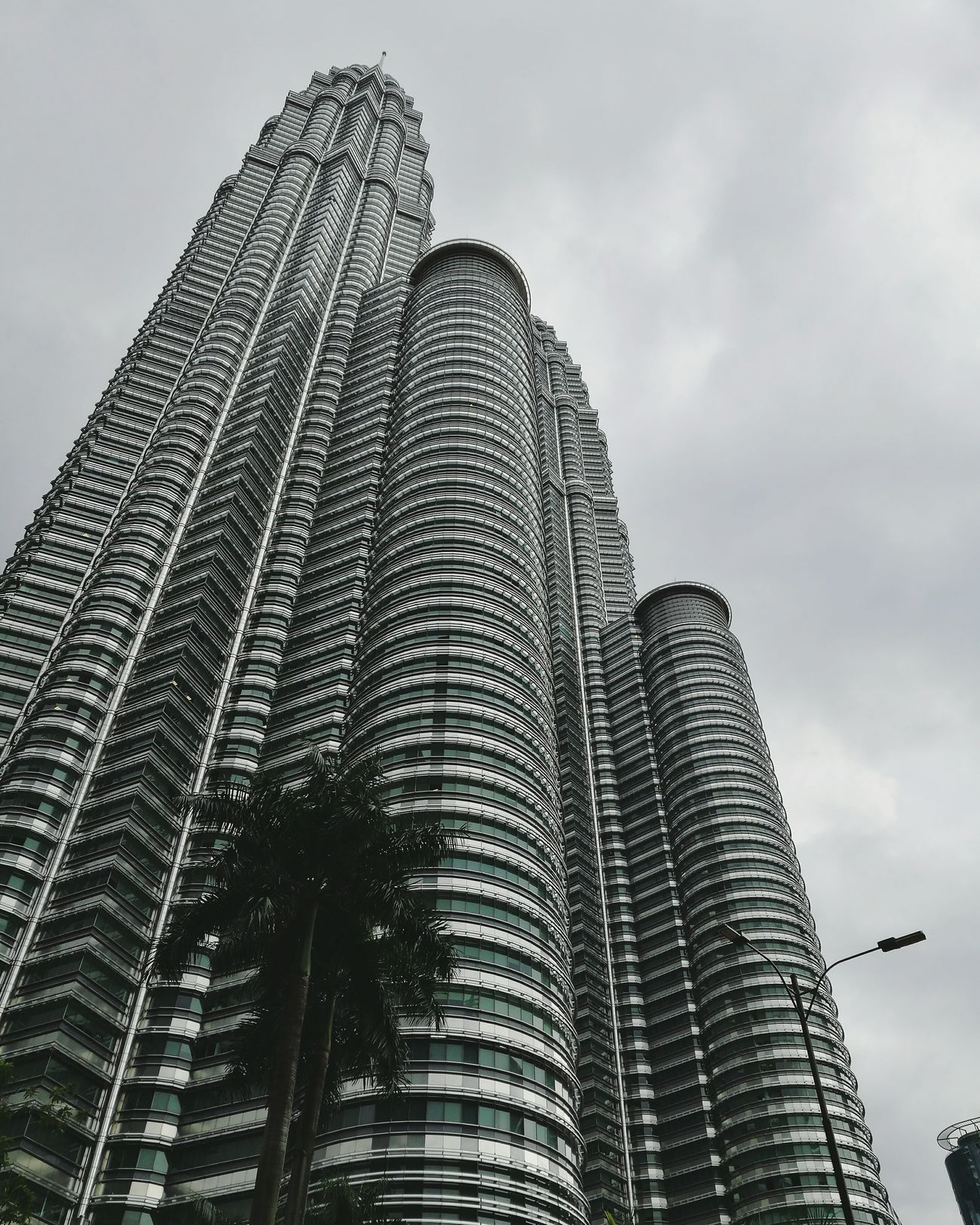 Architecture City Sky Building Exterior Outdoors Built Structure Skyscraper Modern Travel Destinations Cloud - Sky Futuristic No People Day Cityscape KLCC Twin Towers Klcc KLCC Tower Malaysia City Architecture Huaweiphotography HuaweiP9 Huawei P9 Leica Huawei Huaweip9photos