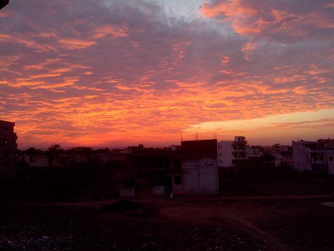 Sky Taking Photo