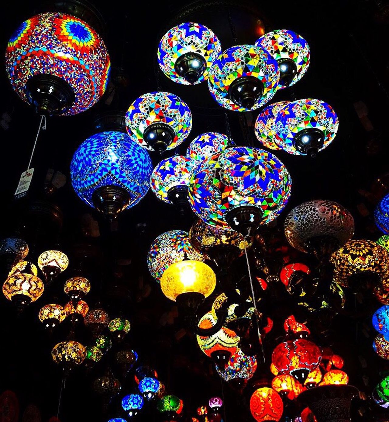 Candem Town Market Candemlock Lights Lanterns Colorful