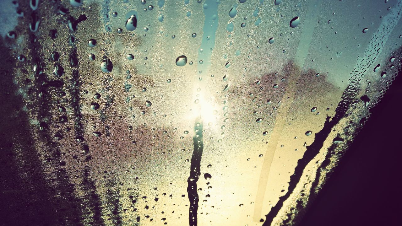 drop, condensation, wet, window, close-up, backgrounds, water, full frame, indoors, no people, refreshment, drink, raindrop, day, freshness, sky