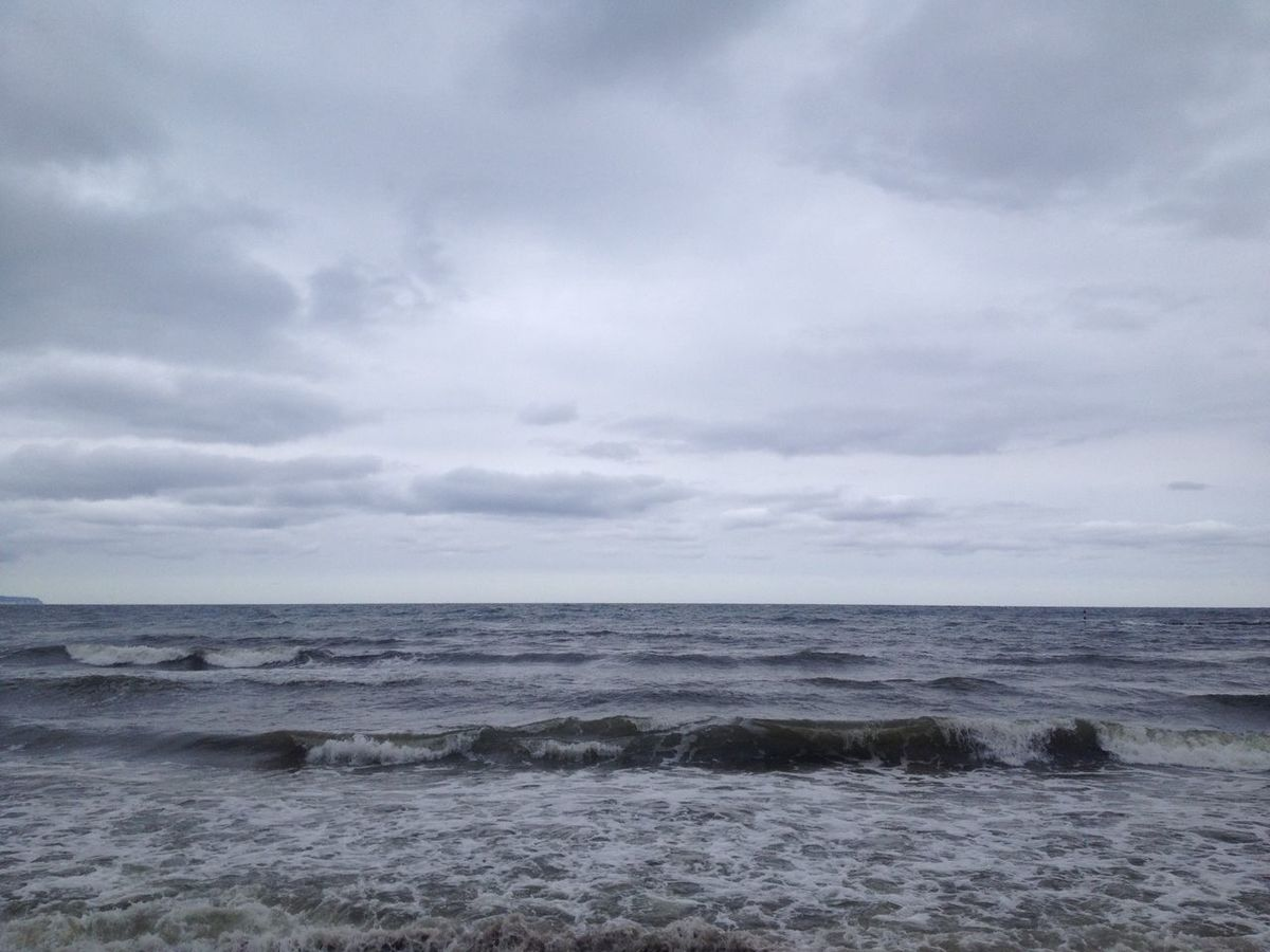 CUT, RÜGEN ISLAND, 3:44 PM Beach Beauty In Nature Cloud Cloud - Sky Cloudy Cut Day From Where I Stand Horizon Over Water Idyllic Learn & Shoot: Balancing Elements Nature Outdoors Remote Scenics Sea Seascape Shore Sky Tranquil Scene Tranquility Water Wave