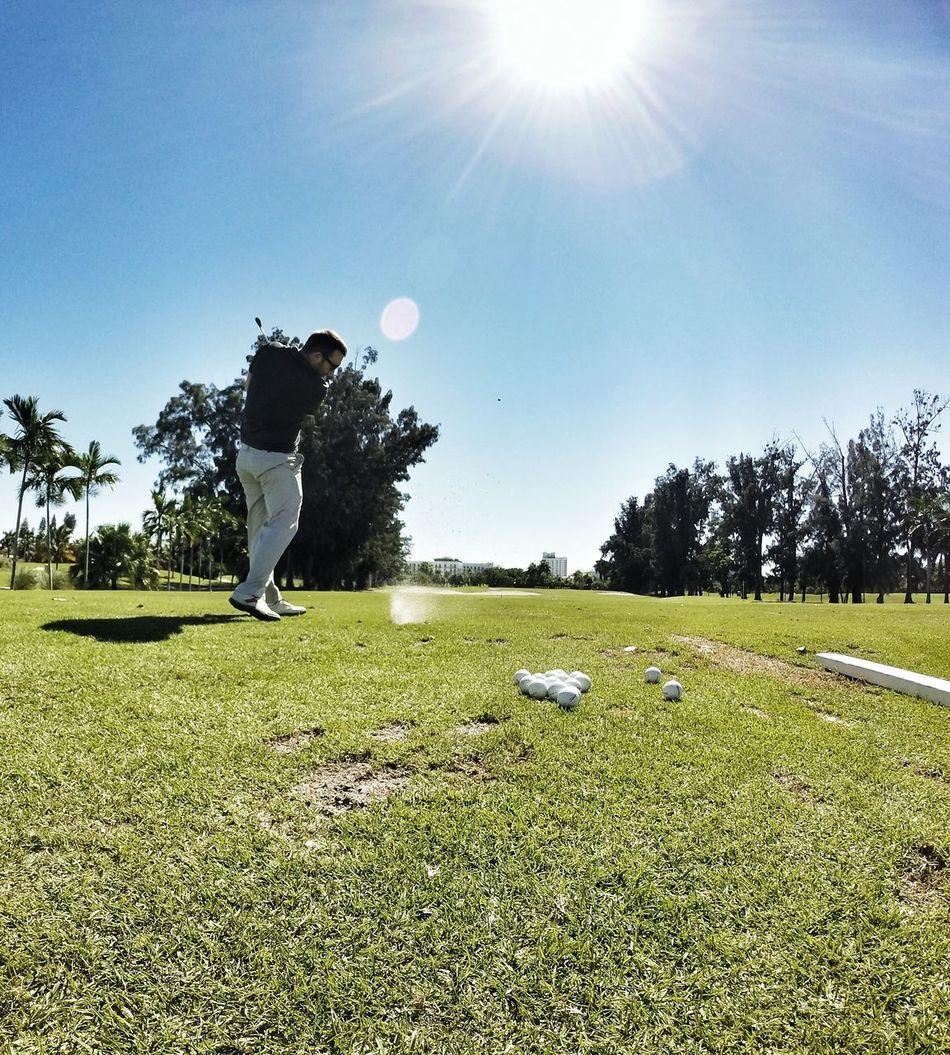 Beautiful stock photos of golf, Clear Sky, Day, Full Length, Golf