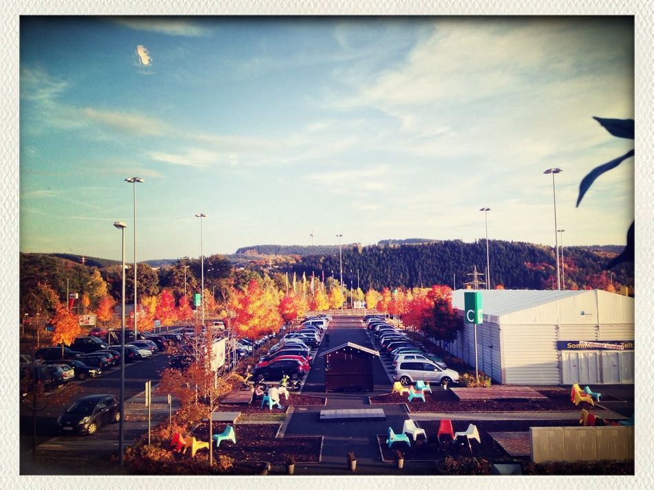 Beautiful view in Fall from my work at IKEA Siegen