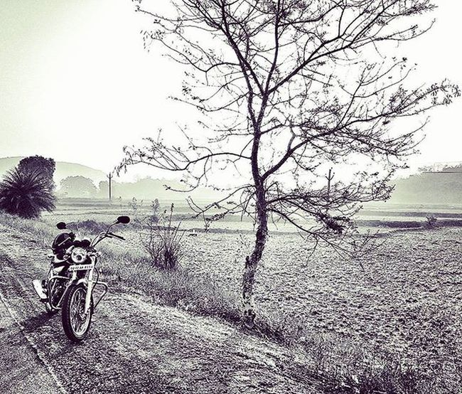 Posing Thunderbird Bhubaneshwar Odisha Blackandwhitephotography Royalenfieldbeasts Royalenfield