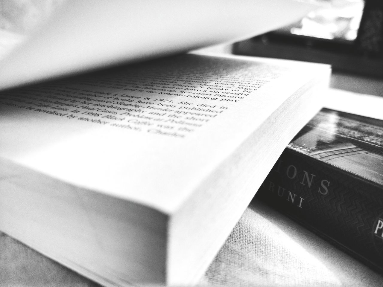 An evening with books. . . Indoors  No People Shadows & Lights Books ♥ Bookstagram Booklover Blackandwhite Photography Focus Object