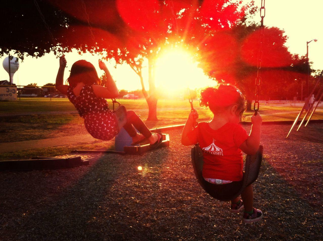 Evening sun. Light Up Your Life