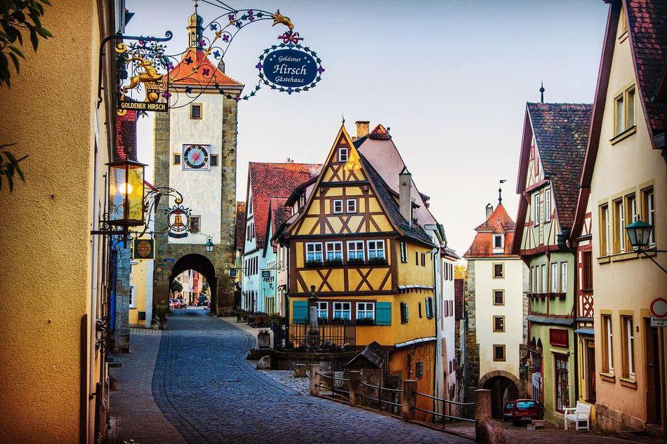 The Architect - 2016 EyeEm Awards Rothenburg Ob Der Tauber Romantic Road Plönlein Frankenbergstrasse Germany Bayern MedievalTown Medieval Architecture