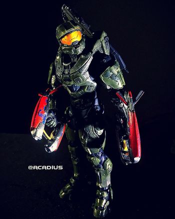 Toys Toy Geek Geek Halo Toy Art Toy Artistry Video Games Master Chief