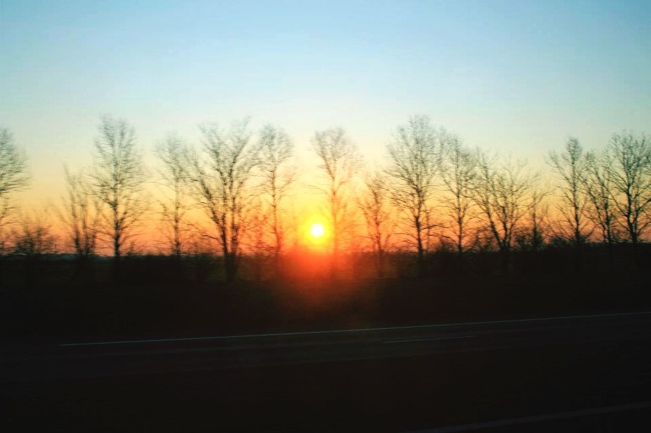 Morning sunshine. | Sunrise Beautiful Nature Photography Landscape On The Road The EyeEm Facebook Cover Challenge