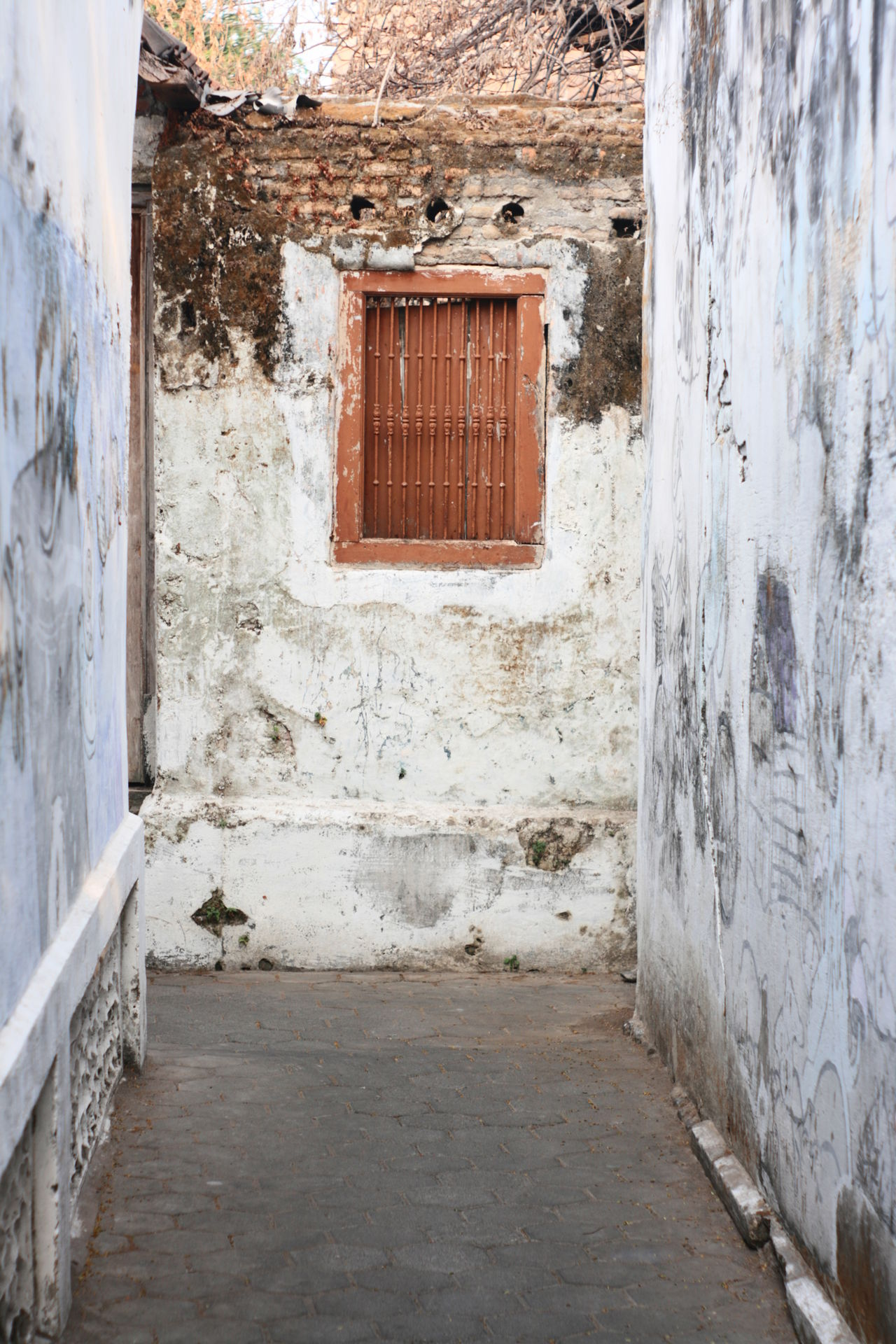 window in kota gede Architecture Building Exterior Built Structure Day House No People Old Old Buildings Outdoors Rustic Window