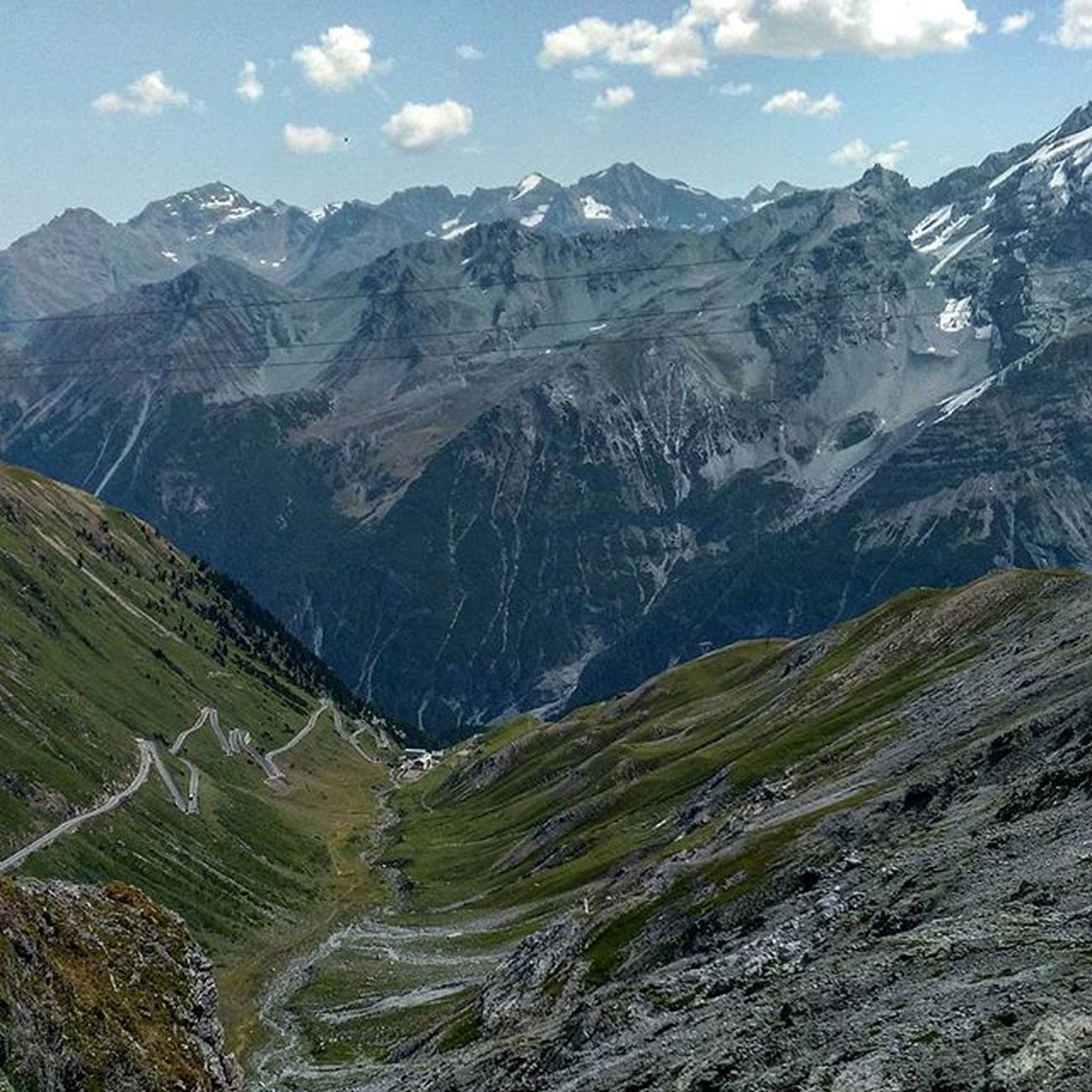 Wonders of Nature Stelviopass Passodellostelvio Mountains Snowtops Green Greenvalley Slopes Bikeride Mysummeradventure2015 EyeCandy  Italy Views HTC HTCDesireEye Nofilter Creationatitsbest