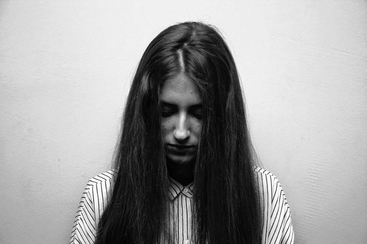 B&W Portrait Shades Of Grey