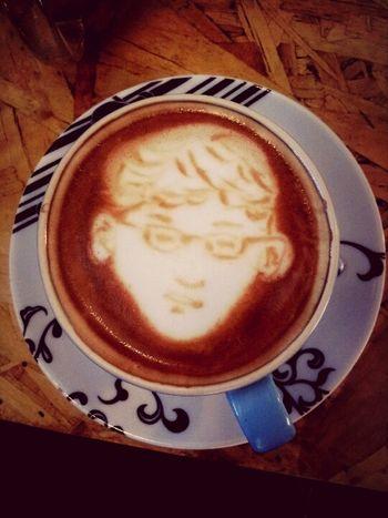 咖啡人像 Cappucino