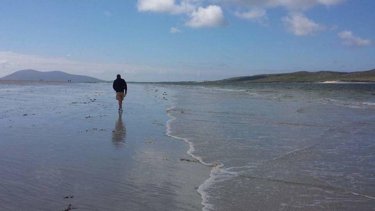 Luskentyre Beach Luskentyre Isle Of Harris Harris Golden Sands Solitude ThatsMe Sunmer Scotland