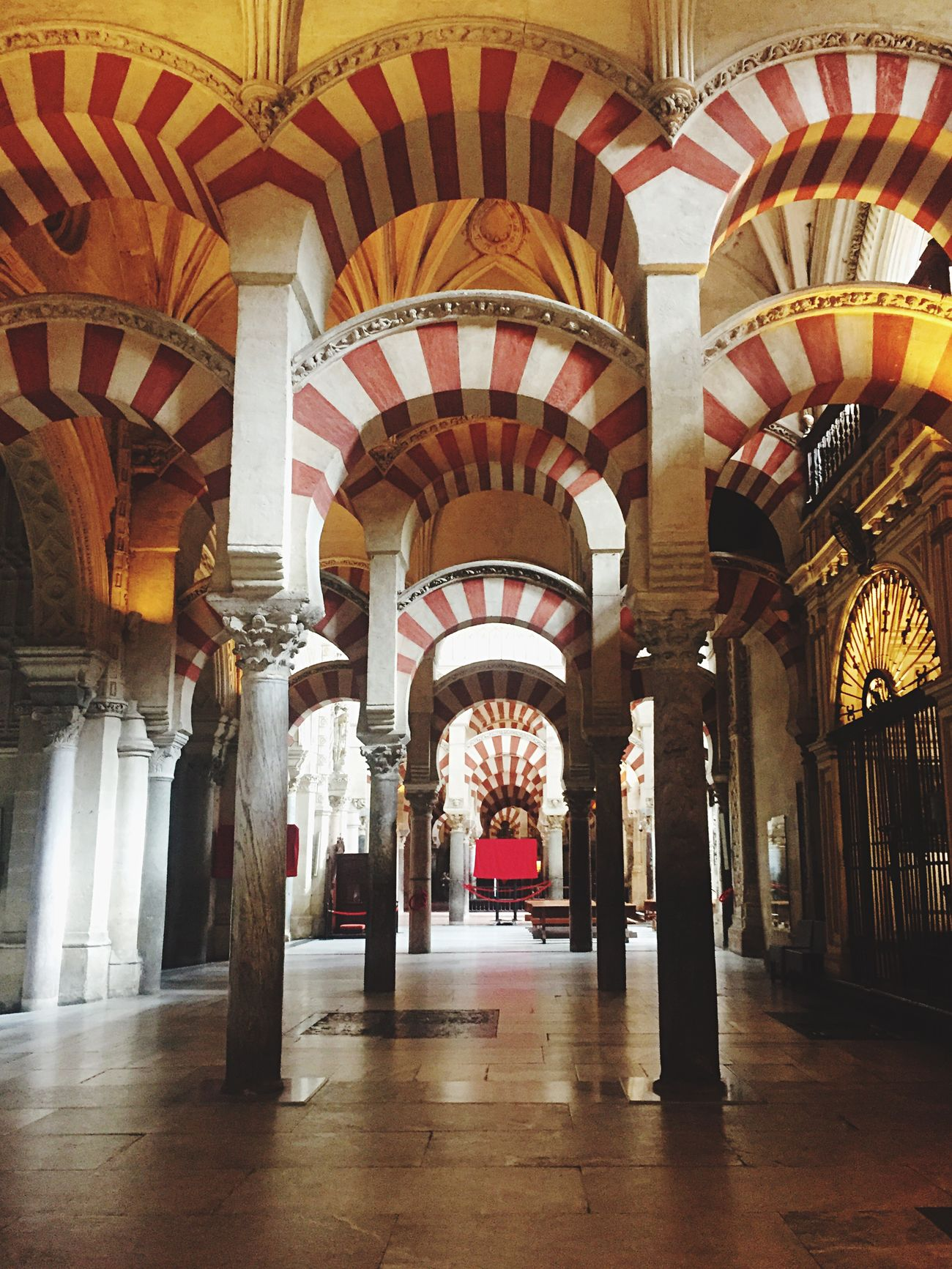 Day 3 Traveling Light And Shadow Architecture_collection EyeEm Gallery EyeEm Best Shots EyeEmBestPics Eyemphotography SPAIN Colors Photography Religion Arabic View Art Mosque Chatedral Architecture Arch Architectural Detail Red