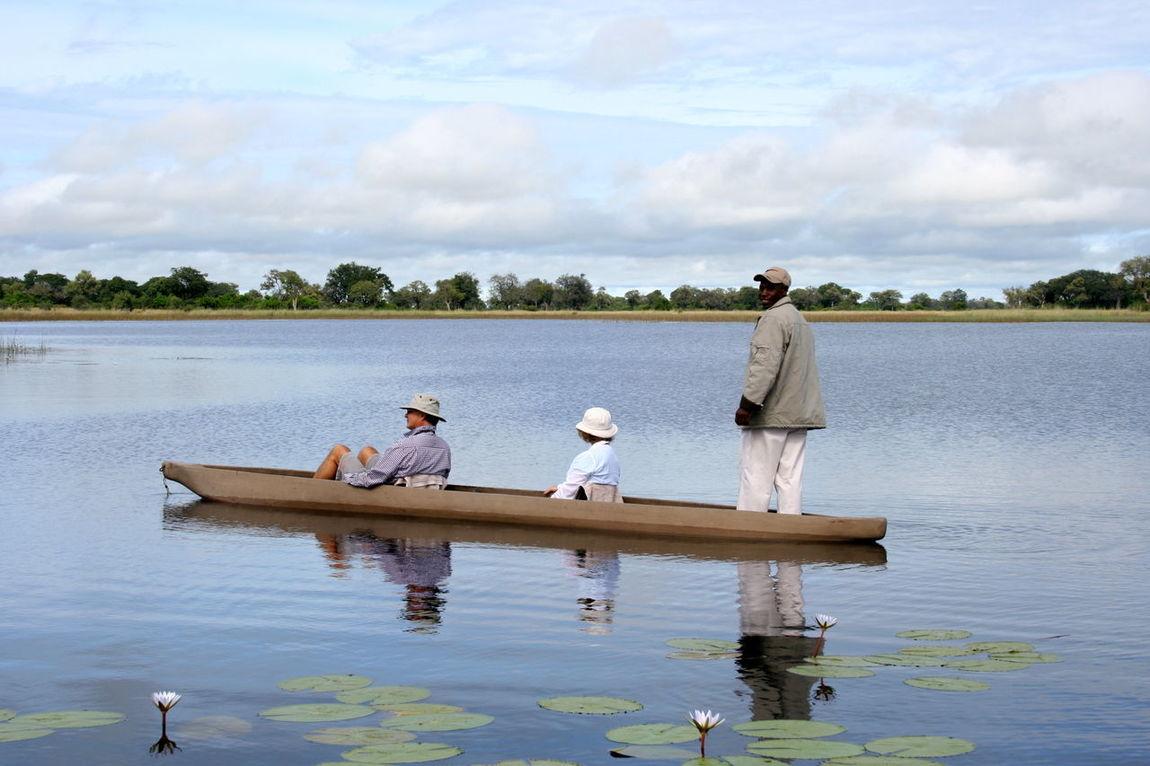 Africa African Beauty Botswana Nature Photography Okavango Delta River Rowing Boat Safari Wildlife & Nature