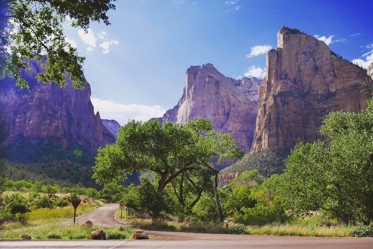 USA Zion National Park USAtrip Utah