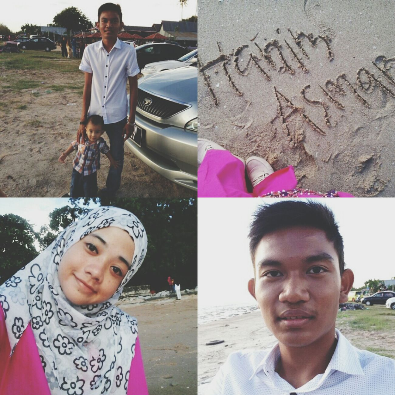 with loves! (padahal lain pantai) kekekeke