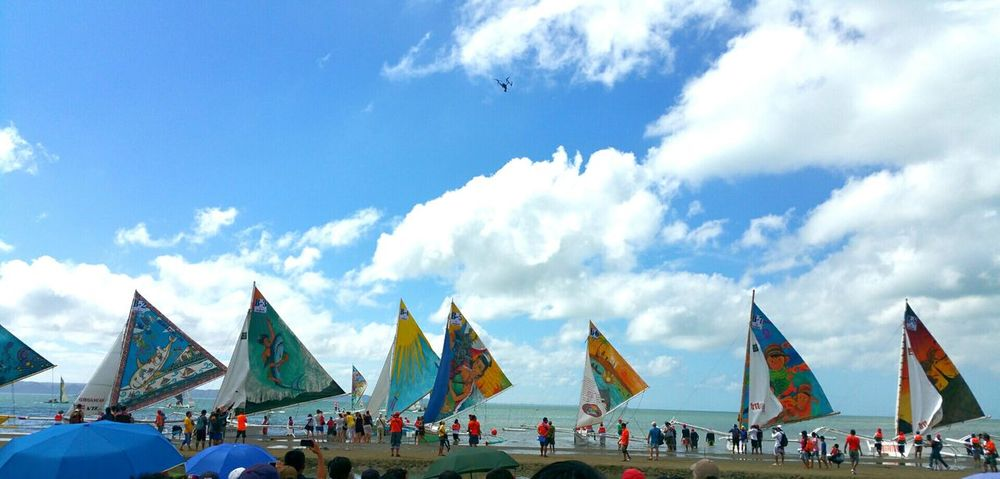 Parawsailing Boats⛵️ Colorful Shorelines Sunnyday🌞 Competition Art Arts Culture And Entertainment Paintings
