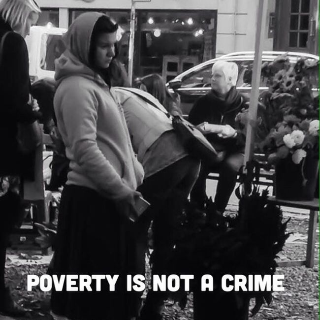 www.povertyisnotacrime.org Poverty Is Not A Crime Humaninterest Begging