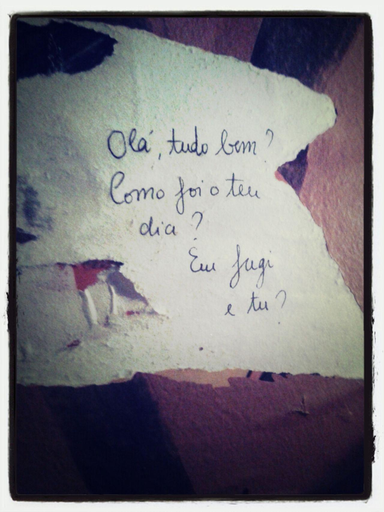 EyeEm Porto Streetart Message In A Bottle Rua do Almada, Porto