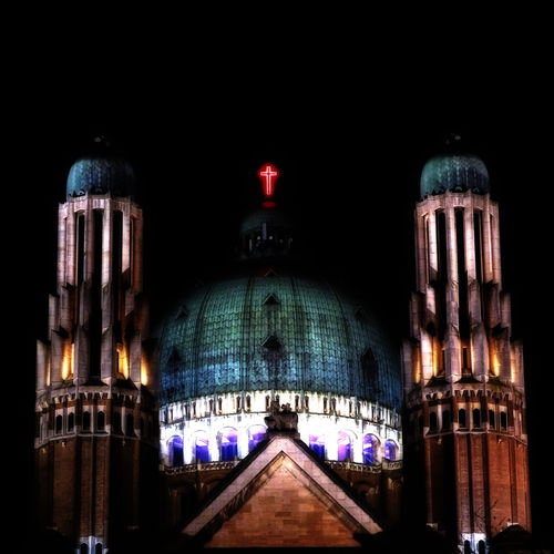 Close Religion Architecture Architecture Being Creative Building Exterior Built Structure Cathedral Dome EyeEm Best Edits EyeEm Best Shots Illuminated Koekelberg Basilica Low Angle View My Art, My Soul... My Unique Style Night Night Photography No People Outdoors Place Of Worship Popular Photos Travel Destinations
