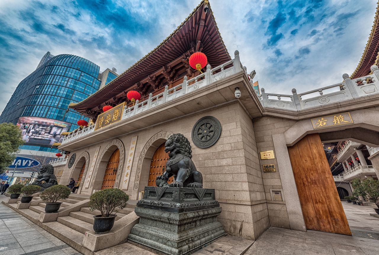 Temple Architecture Building Architecture_collection Shanghai EyeEm Best Shots Hdrphotography Photography Jinan,china