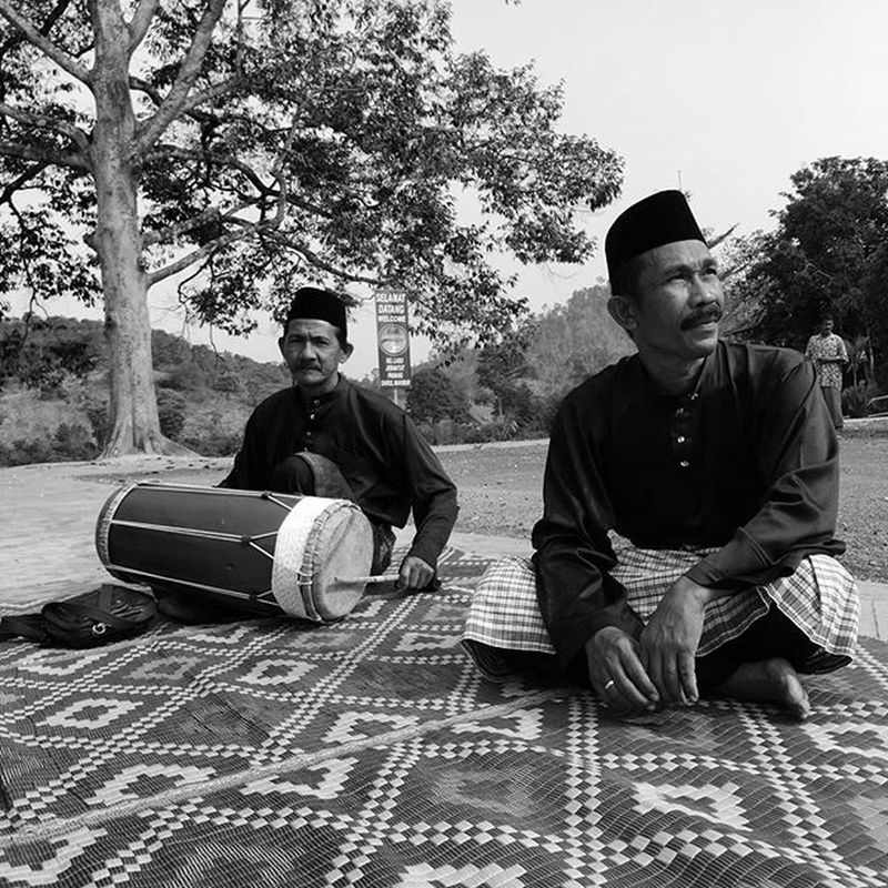 Traditional Malay musical ensemble. HuaweiP9 Huaweisg Oo Monochrome The Portraitist - 2016 EyeEm Awards