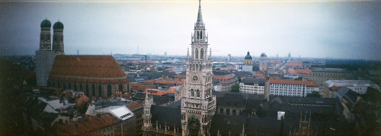 Sprocket Rocket Panorama Lomography Film Film Photography Filmisnotdead 35mm Architecture Munich