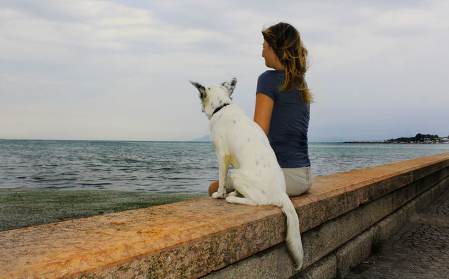 Eyeemphoto Immagine Wind Lookatthesky Dogfriends Romantic