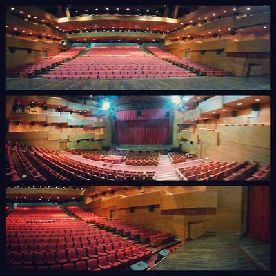 Um pouco do Teatro de Paulinia. Teatro espetacular! foto tirada no dia 24/08 kkkk só demorei pra postar ???????