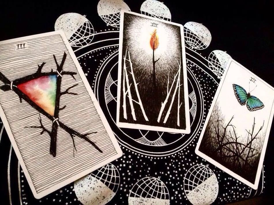Tarot Tarotcards Tarotreader Oracle Thewildunknowntarot Witch Witchcraft  Divination Occult Witches