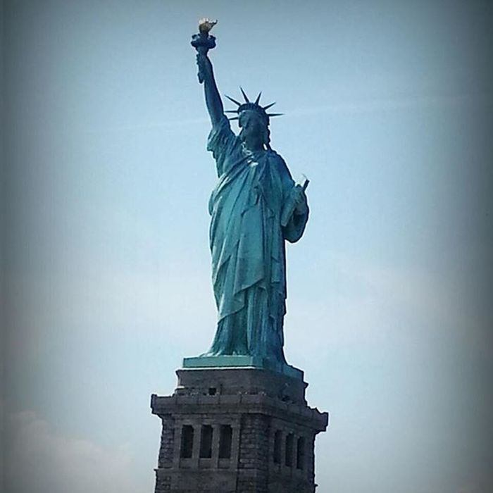 Godblessamerica Stand beside her and guide her Statue Of Liberty Statueofliberty