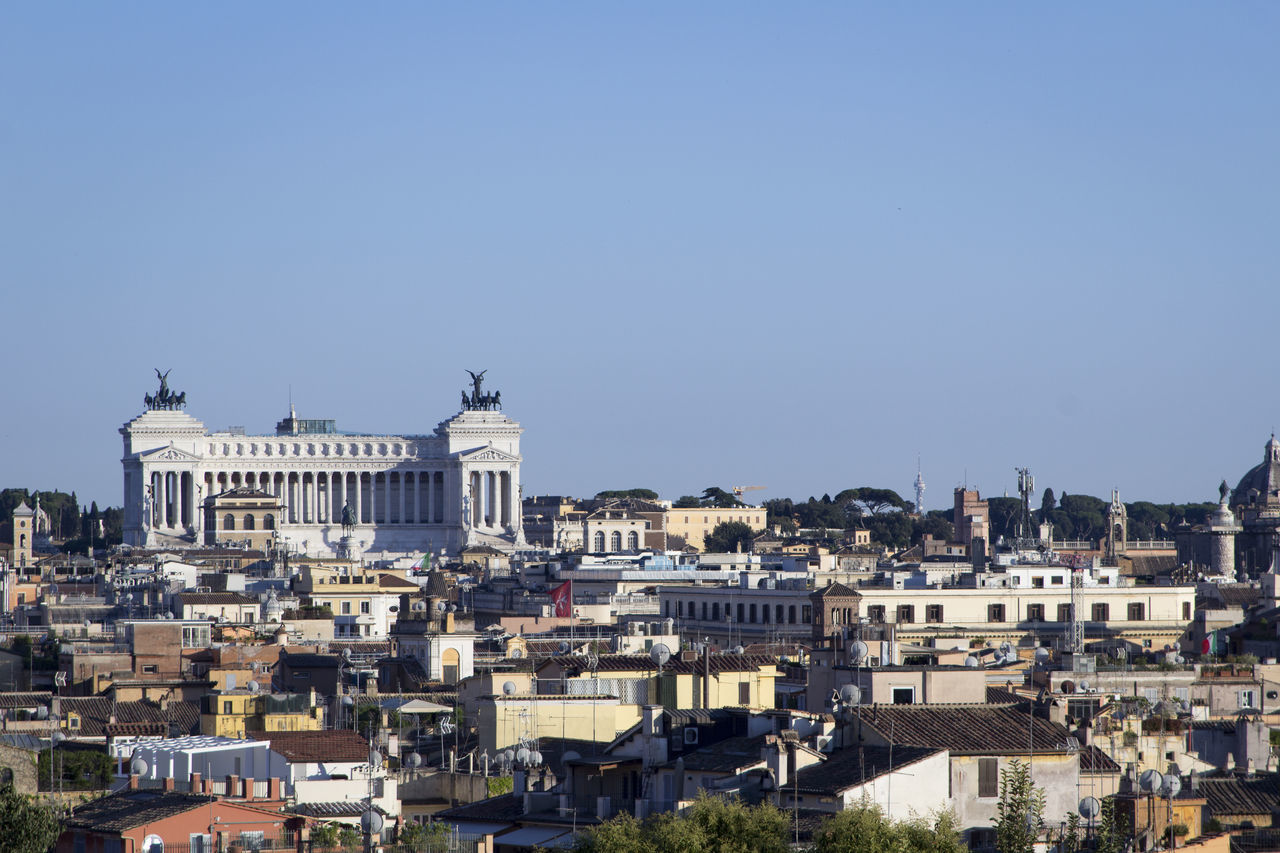 Altare Della Patria Altare_della_patria Altaredellapatria Architecture Blue Building Exterior Built Structure City City Life Cityscape Cityscape Cityscapes Clear Sky Monument Monument Valley Monumento No People Outdoors Roma Roma Caput Mundi Rome Rome Italy Rome View Romestreets Town