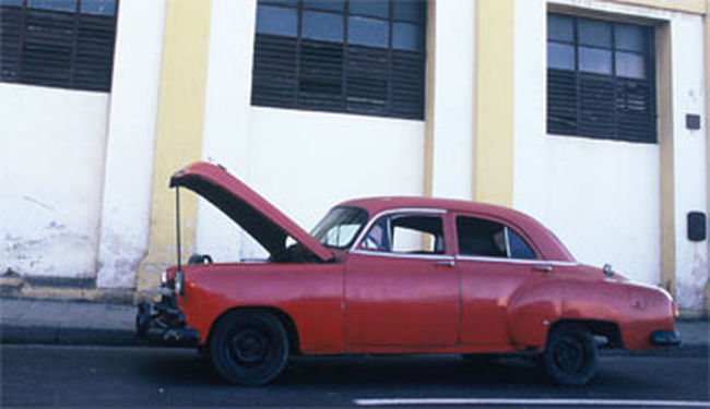 Auto Cuba Havana Havane La Havana Oldcar Travel Vieillevoiture