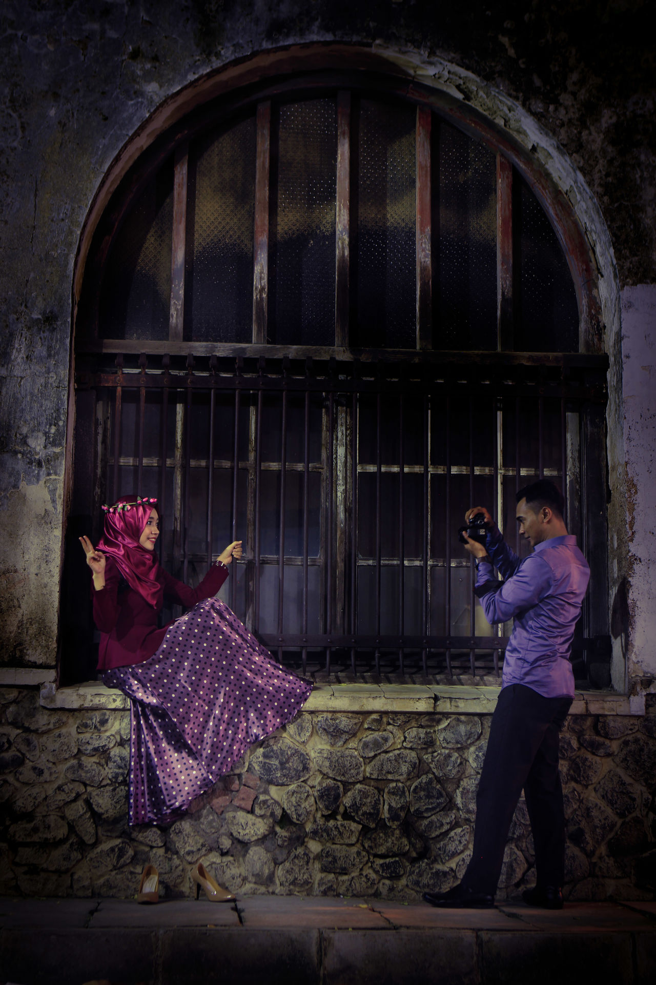 drama... via Fotofall Pre Wedding Photography Semarang , Indonesia Pre Wedding Romantic❤ Romantic Moment Indonesian Photographers Collection Indonesia_photography Awesome INDONESIA Jajan Pasar