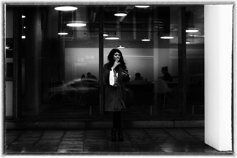 On The Holloway Road Taking Photos Londonist Black & White Streetphoto_bw My Winter Favorites Winter London Lostamongstthelost Blackandwhite Cities February 2016