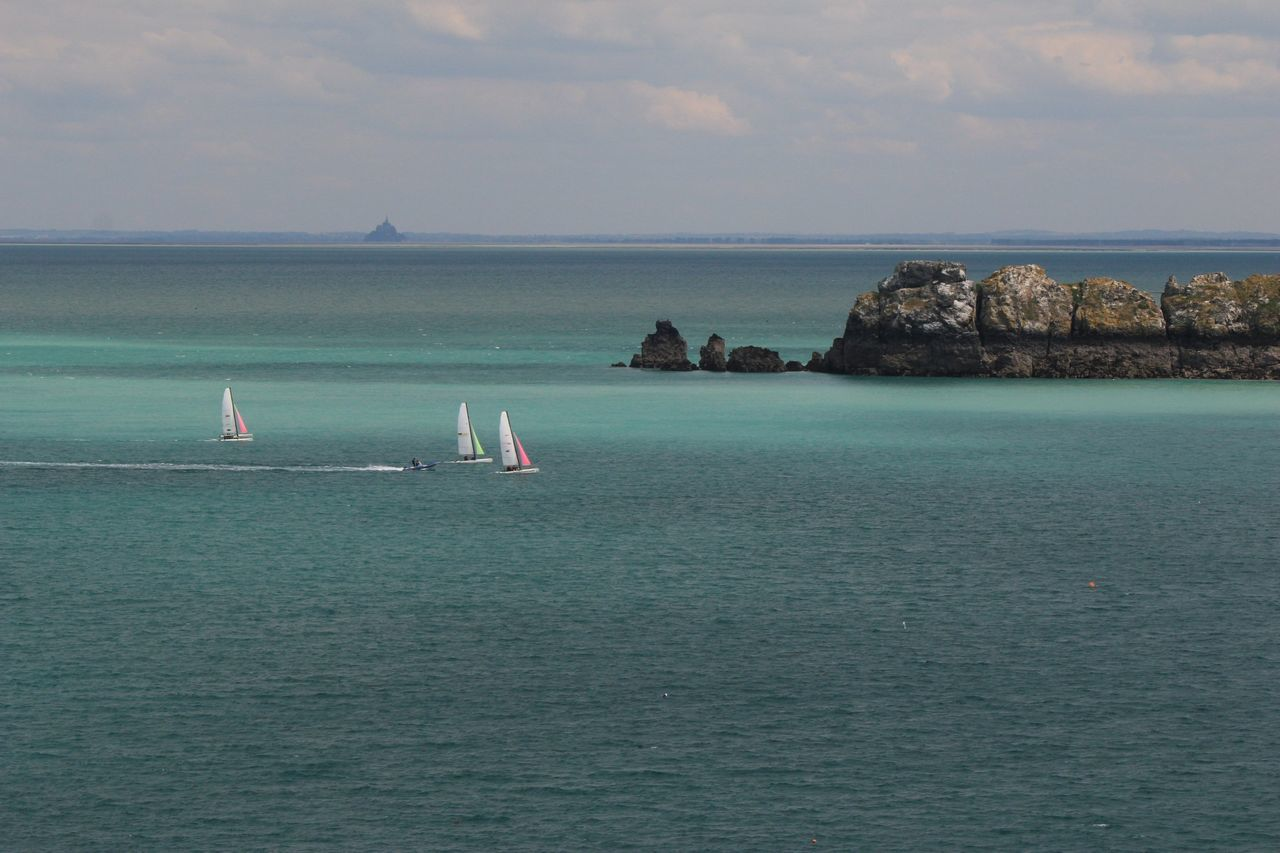 Sea Water Beach Vacations Nautical Vessel Outdoors Nature Horizon Over Water Day People Sky Adult Beauty In Nature Bretagne Bretagnetourisme Bretagne My Love Landscape Beauty In Nature Tranquil Scene Tranquility Travel Destinations