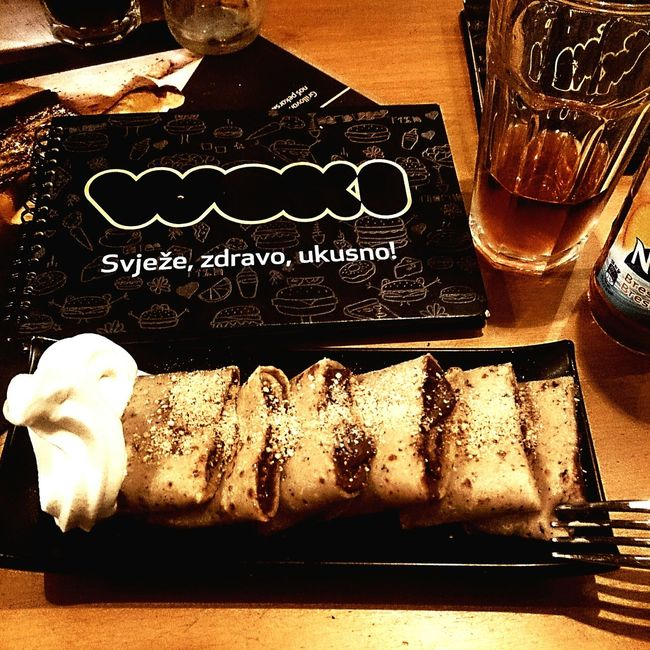 If you ever come to visit Sarajevo Woki is a great place to visit if you're hungry. Woki Sarajevo Food Pancakes Delicious Nutella