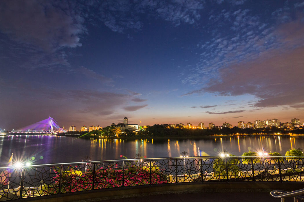 Night view of bridge in Putrajaya Malaysia Architecture Bridge - Man Made Structure Building Exterior Built Structure City Cityscape Illuminated Long Exposure Nature Night No People Outdoors Putrajaya Putrajaya Mosque Putrajaya, Malaysia Putrajaya,malaysia Putrajayabridge Putrajayaview Reflection River Scenics Sky Travel Destinations Water Waterfront