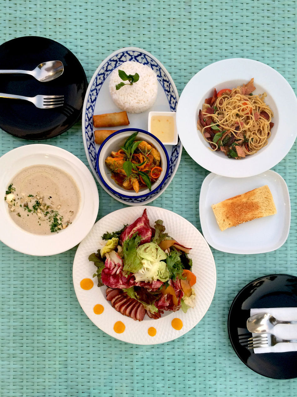 Beautiful stock photos of bangkok, Directly Above, Food, Food And Drink, Fork