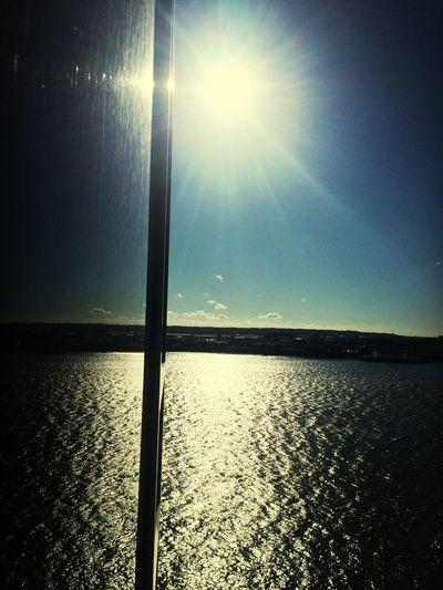 Reflection Window Sunshine Sky