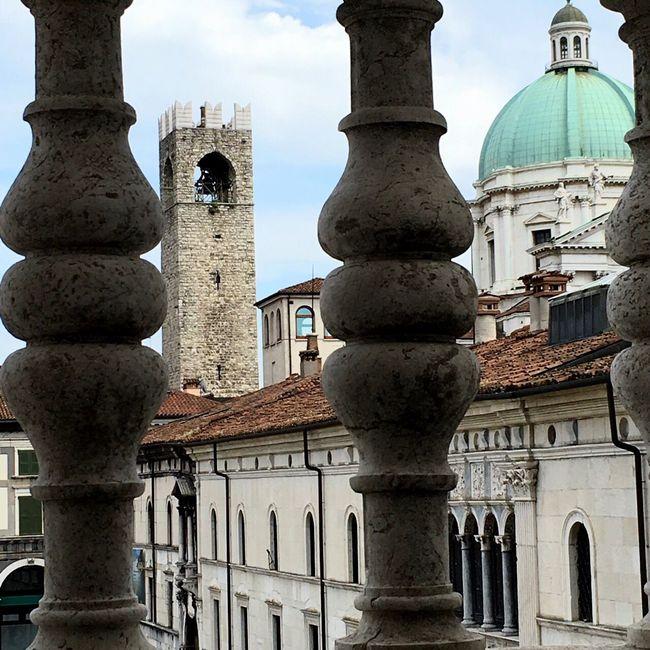 City Cityscape City View  My City Sky Architecture Dome History No People Piazza Loggia Duomo Cupola Torre Torre Del Broletto No Pepole