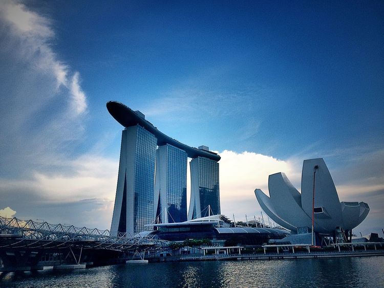 💖 Singapore sunset view