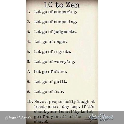 Live your life the Zen way. Zenlifestyle Goodhappylife Peaceandquiet