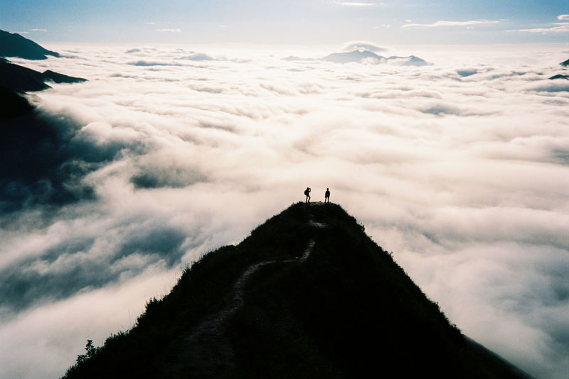 Adventure Beauty In Nature Cloud - Sky Ektar100 Film Photography Hiking Landscape Nature Outdoors Scenics Sky The Great Outdoors - 2017 EyeEm Awards The Great Outdoors - 2017 EyeEm Awards