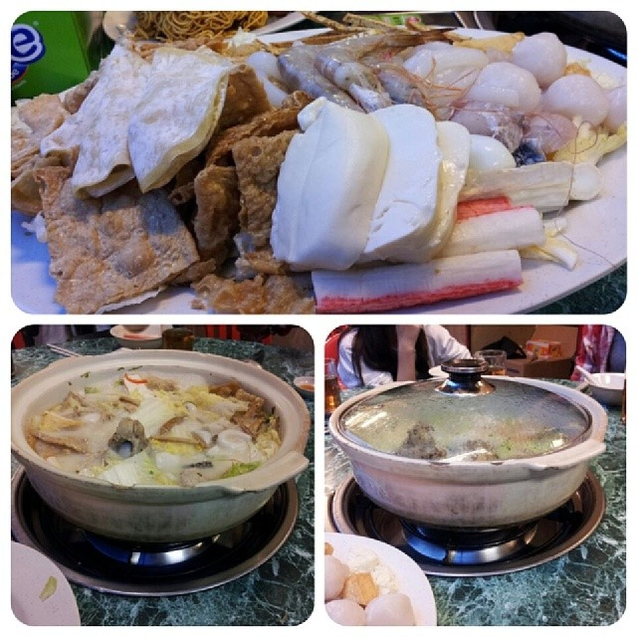 Dinner 猪骨煲 Throwback Yesterday