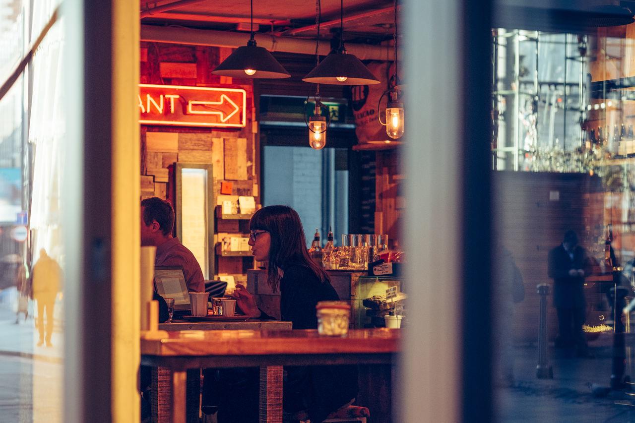Borough Market Cafe City Coffee London Love Urban Winter