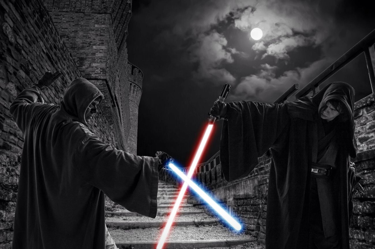 May the 4th be with you. MayThe4thBeWithYou Tadaa Community Blackandwhite Photo Editing Star Wars