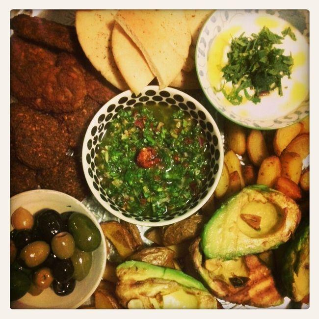 oriental love Falafel Herbs Veggie Avocado Houmus  Preserved Lemon  Oriental Delight